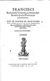 In librum Aristotelis de Arte Poetica Explicationes
