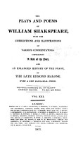 The Plays and Poems of William Shakespeare  Pericles  Titus Andronicus  Addenda  Indexes PDF