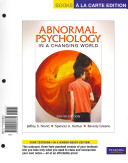 Abnormal Psychology in a Changing World Book