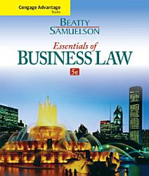 Cengage Advantage Books Essentials Of Business Law Book PDF