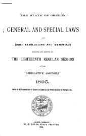 Oregon laws and resolutions