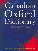 Canadian Oxford Dictionary PDF