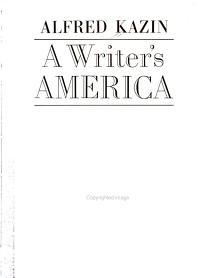 A Writer s America
