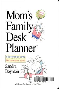 Mom s Family Desk Planner