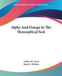 Alpha and Omega in the Theosophical Seal