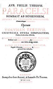 Opera omnia medico-chemico-chirurgica. - Genevae, Antonius et Tournes 1658