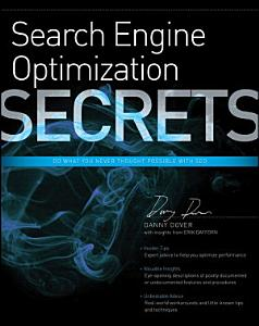 Search Engine Optimization  SEO  Secrets Book