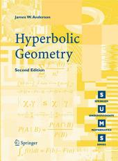 Hyperbolic Geometry: Edition 2