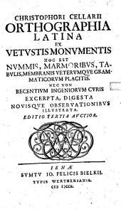 Orthographia latina