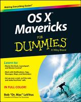 OS X Mavericks For Dummies PDF