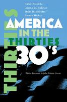 America in the Thirties PDF