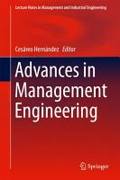 Advances in Management Engineering PDF