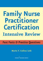 Family Nurse Practitioner Certification Book PDF