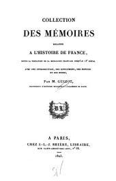 Collection Des Mémoires Relatifs À L'histoire de France: Depuis la Fondation de la Monarchie Française Jusqu'au 13 Siècle, Volume 23