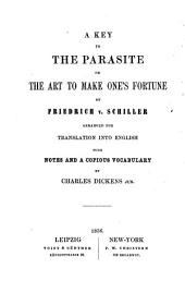 The Parasite, Or The Art to Make One's Fortune: A Comedy in Five Acts