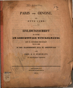 Paris und Oinone PDF