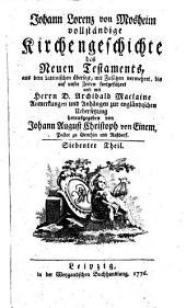 Vollständige Kirchengeschichte des Neuen Testaments: Band 7