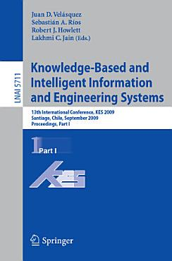 Knowledge Based and Intelligent Information and Engineering Systems PDF