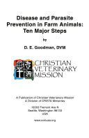 Disease and Parasite Prevention in Farm Animals