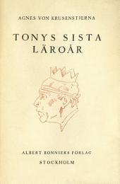 Tonys sista läroår: Resa till kejsarens hotell
