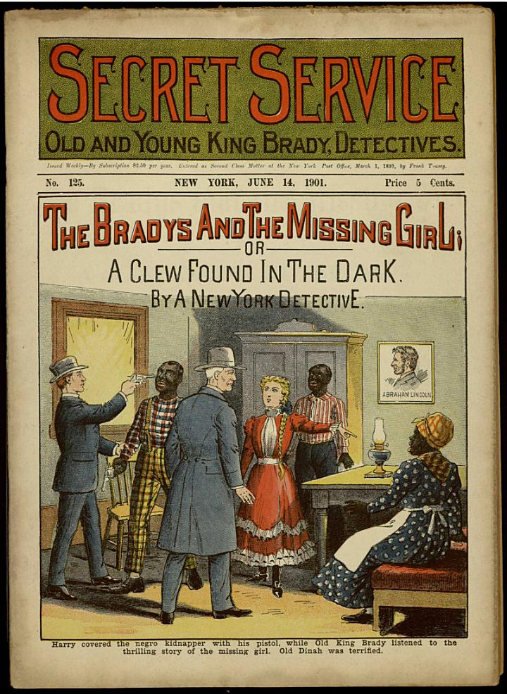 The Bradys and the Missing Girl; Or, A Clew Found in the Dark
