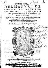 Compendio del manual de confessores, y penitentes