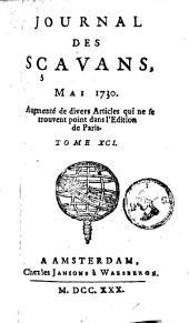 Le journal des sçavans: Volume91