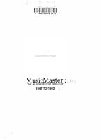 MusicMaster PDF