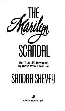 The Marilyn Scandal PDF