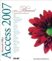 Microsoft Office Access 2007 On Demand (Adobe Reader)