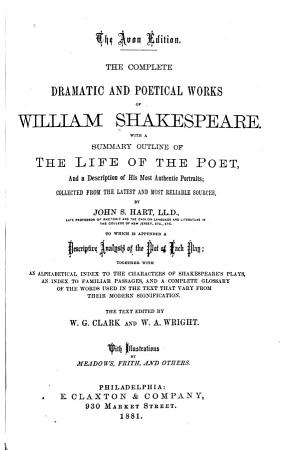 The Complete Dramatic and Poetical Works of William Shekespeare PDF