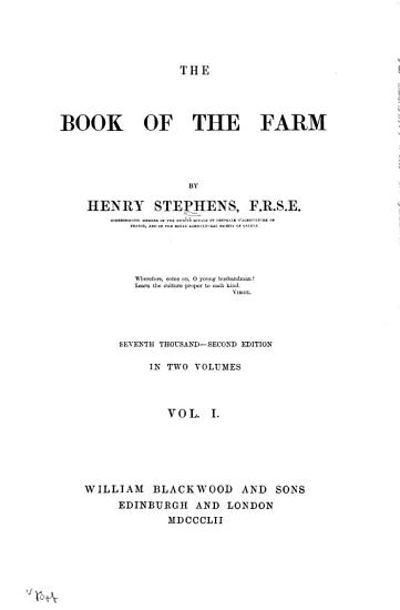 The Book of the Farm      Illustrated   PDF