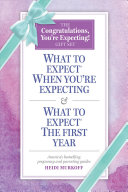What to Expect  The Congratulations  You re Expecting  Gift Set PDF