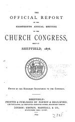 Authorised Report of the Church Congress