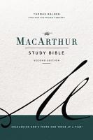 The ESV  MacArthur Study Bible  2nd Edition  eBook PDF