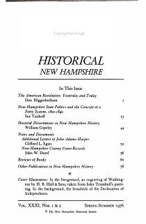 Historical New Hampshire PDF