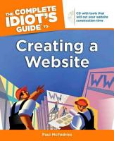 The Complete Idiot s Guide to Creating a Website PDF
