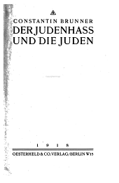 Der Judenhass und die Juden