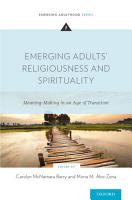 Emerging Adults  Religiousness and Spirituality PDF