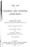 The Art of Teaching and Studying Languages PDF