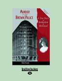 Murder at the Brown Palace (Large Print 16pt)