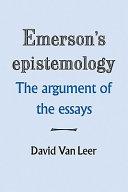 Emerson s Epistemology