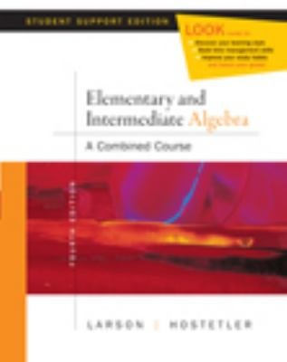 Elementary and Intermediate Algebra  A Combined Course  Student Support Edition PDF
