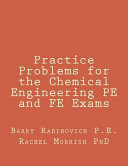 Practice Problems for the Chemical Engineering Pe and Fe Exams PDF