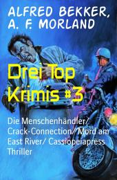 Drei Top Krimis #3: Die Menschenhändler/ Crack-Connection/ Mord am East River