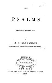 The Psalms: Translated and Explained, Volume 2