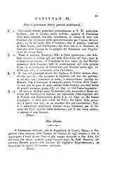 Ferdinando 3. di Sicilia, e 4. di Napoli Re delle Due Sicilie, di Gerusalemme ec. infante delle Spagne duca di Parma, Piacenza, Castro ec. Gran Principe ereditario di Toscana ec. ec