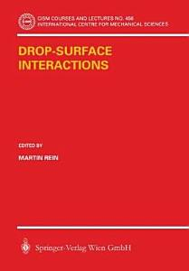 Drop Surface Interactions Book
