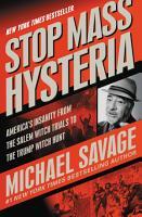 Stop Mass Hysteria PDF