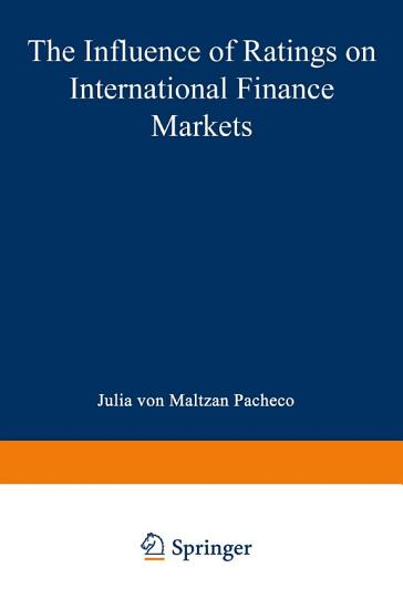The Influence of Ratings on International Finance Markets PDF